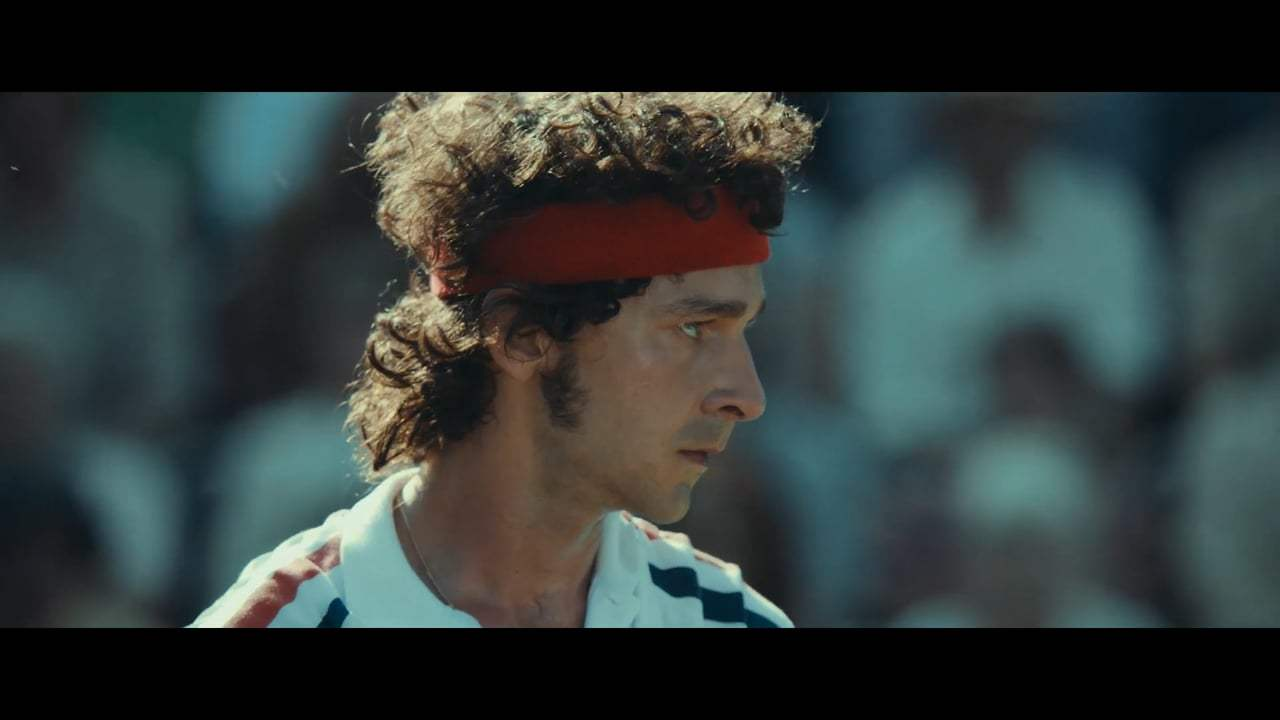 Borg/McEnroe Theatrical Trailer (2017) Screen Capture #1