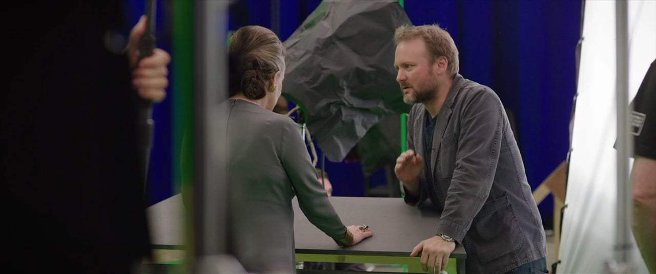 Star Wars: Episode VIII - The Last Jedi Featurette - Rian and Carrie (2017) Screen Capture #2