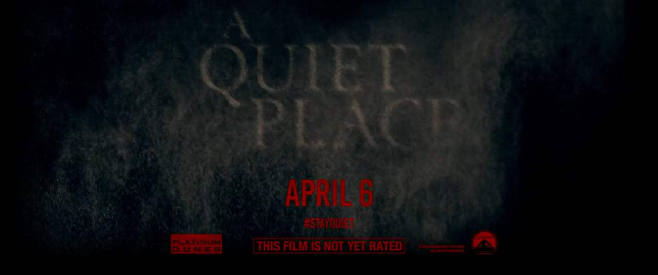 A Quiet Place TV Spot - Turn Off Your Sound (2018) Screen Capture #4