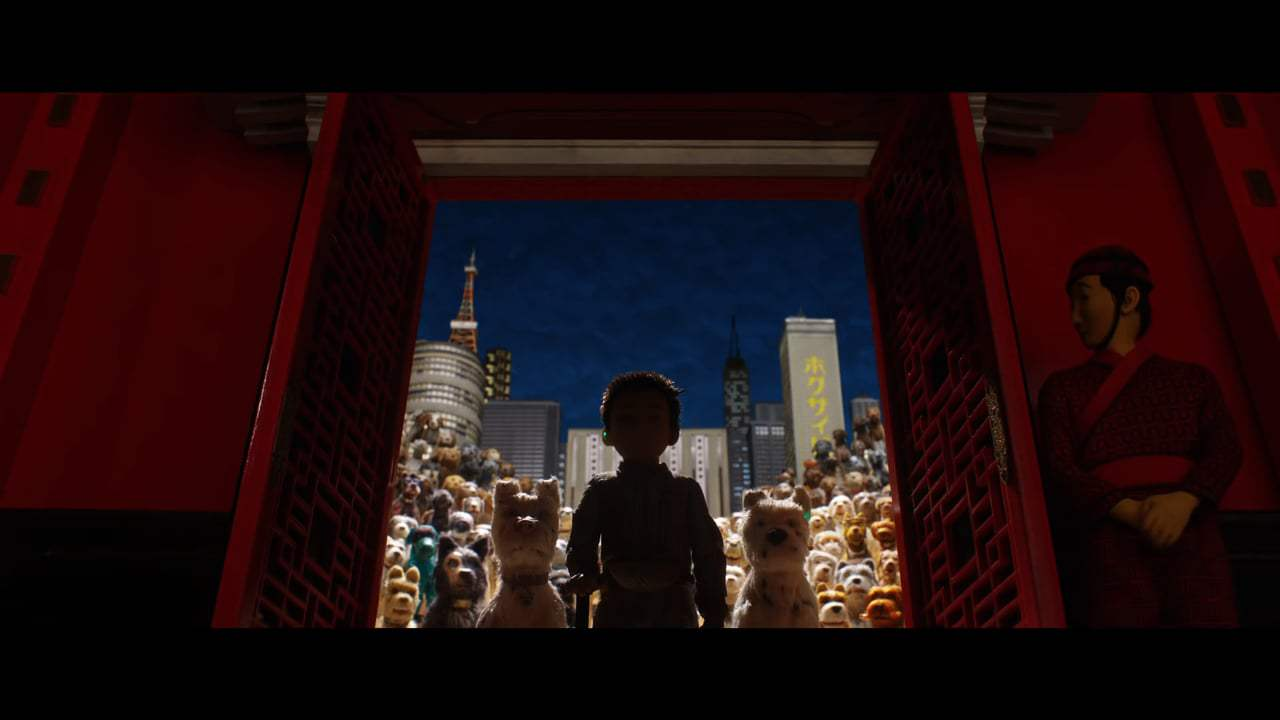 Isle of Dogs Featurette - Megasaki City and Trash Island (2018) Screen Capture #4