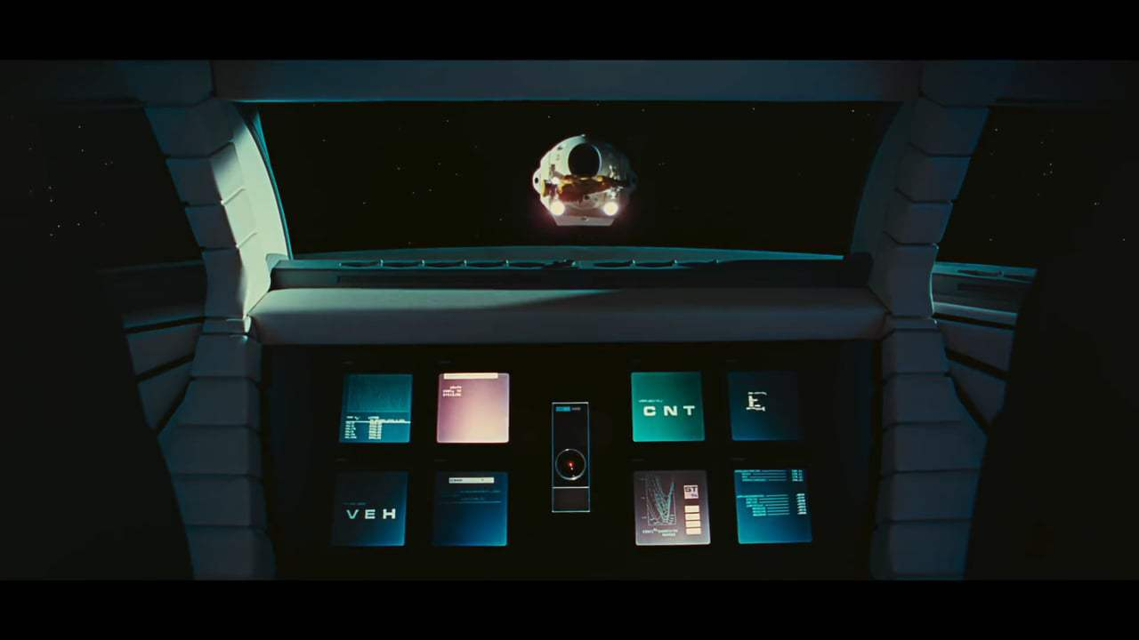 2001: A Space Odyssey Theatrical Trailer (1968) Screen Capture #2