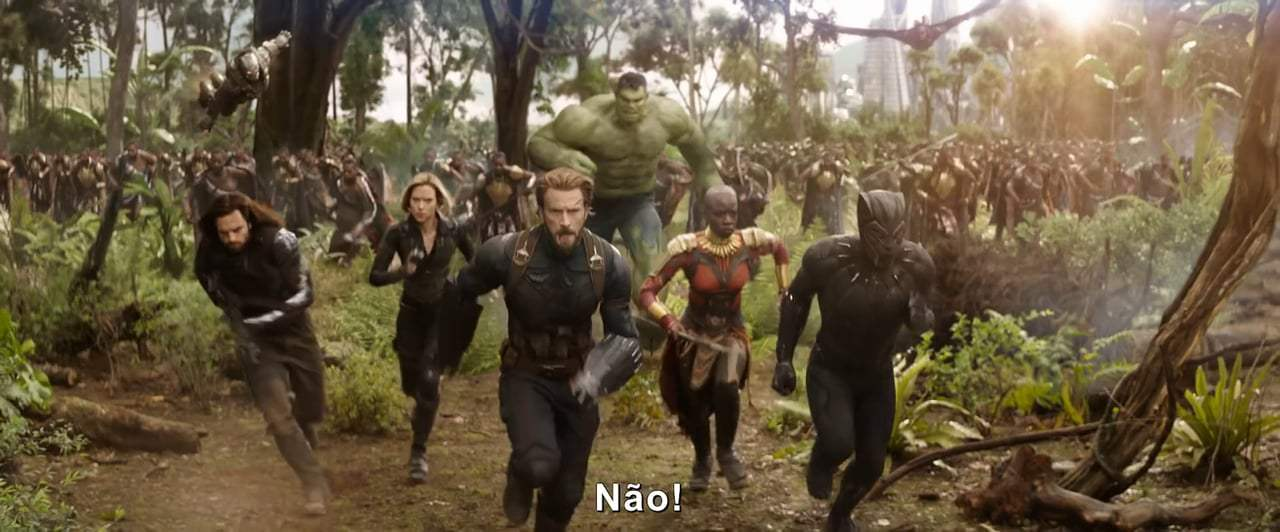 Avengers: Infinity War TV Spot - Snap My Fingers (2018) Screen Capture #3
