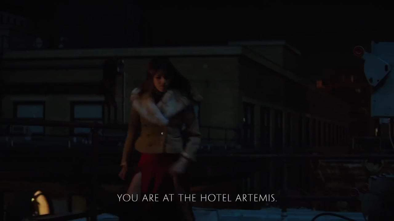 Hotel Artemis Viral - Dave Bautista's Tips for Peaceful Breathing (2018) Screen Capture #3
