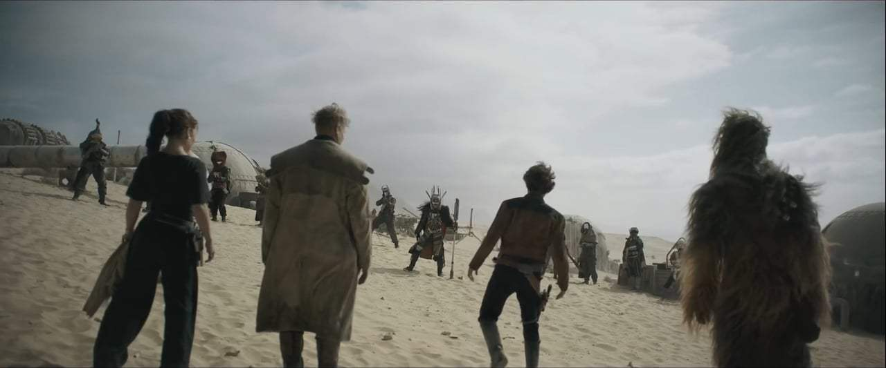 Solo: A Star Wars Story (2018) - Enfys Nest Screen Capture #4