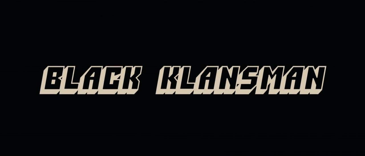 BlacKkKlansman Trailer (2018) Screen Capture #4