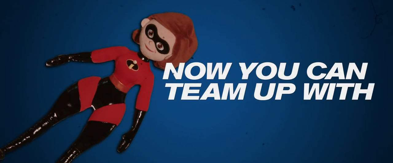 The Incredibles 2 Viral - Elastigirl Vintage Toy Commercial (2018) Screen Capture #3