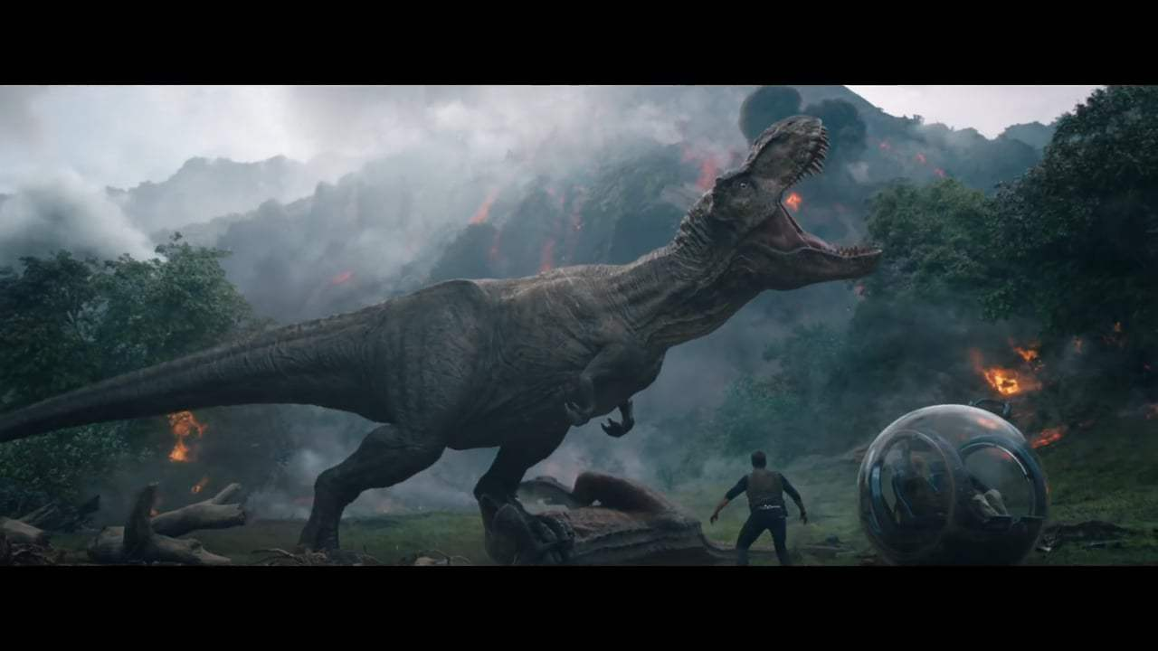 Jurassic World: Fallen Kingdom TV Spot - Welcome (2018) Screen Capture #1