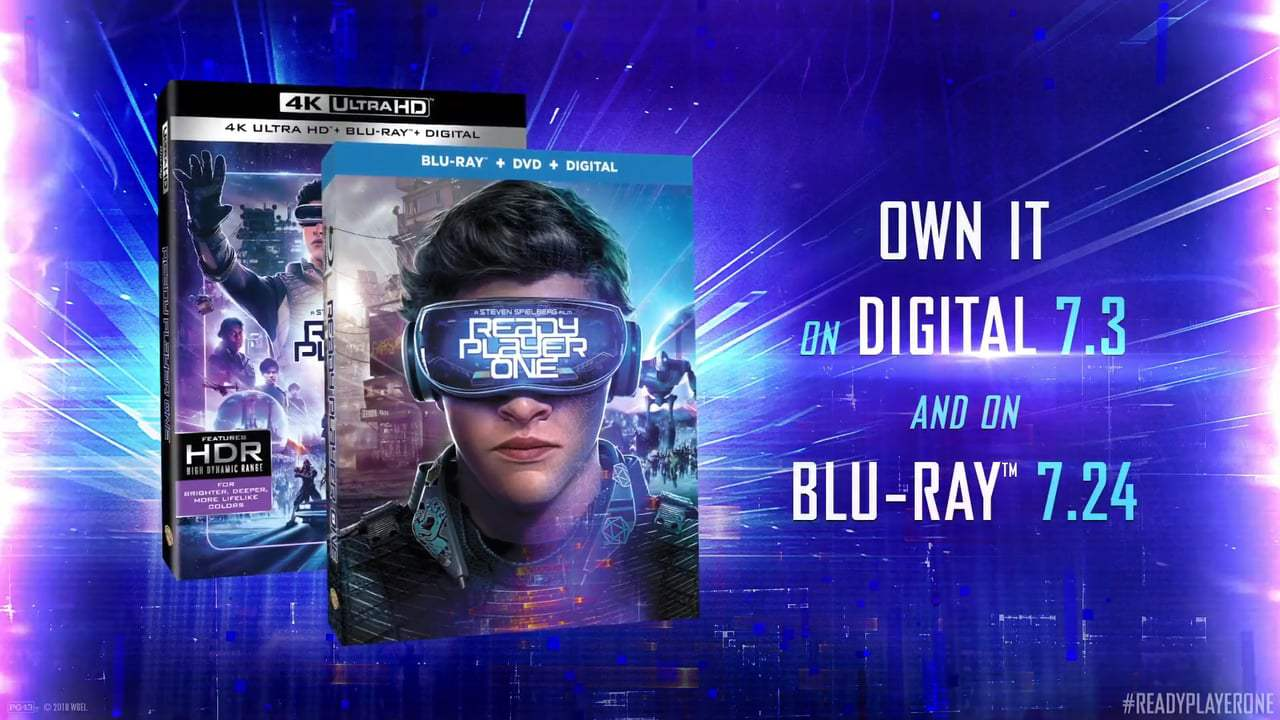Ready Player One TV Spot - Home Entertainment (2018) Screen Capture #4