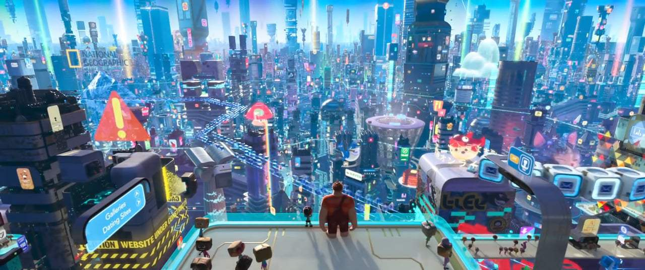 Ralph Breaks the Internet: Wreck-It Ralph 2 Theatrical Trailer (2018) Screen Capture #2