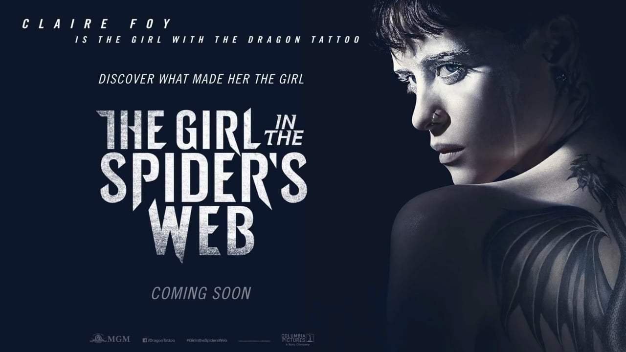 The Girl in the Spider's Web International Trailer (2018) Screen Capture #4