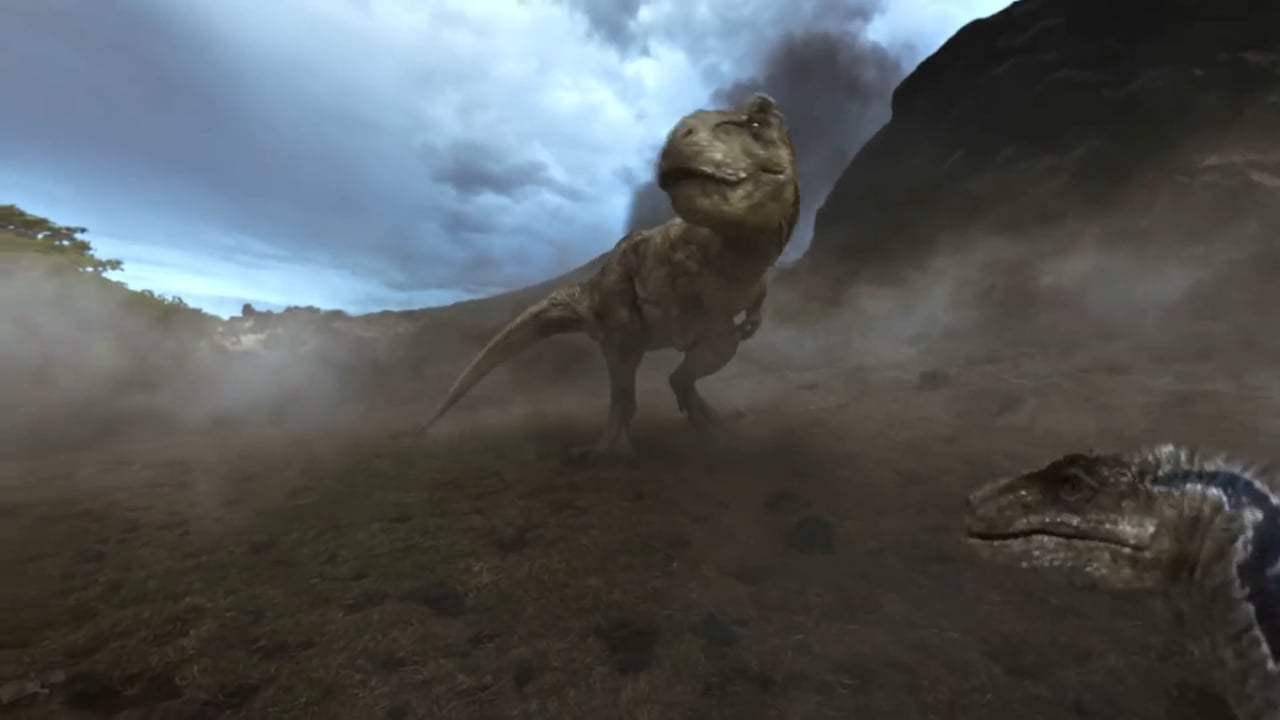Jurassic World: Fallen Kingdom Featurette - VR Experience (2018) Screen Capture #4
