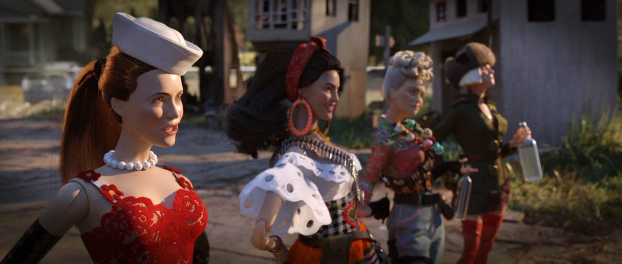 Welcome to Marwen Trailer (2018) Screen Capture #3