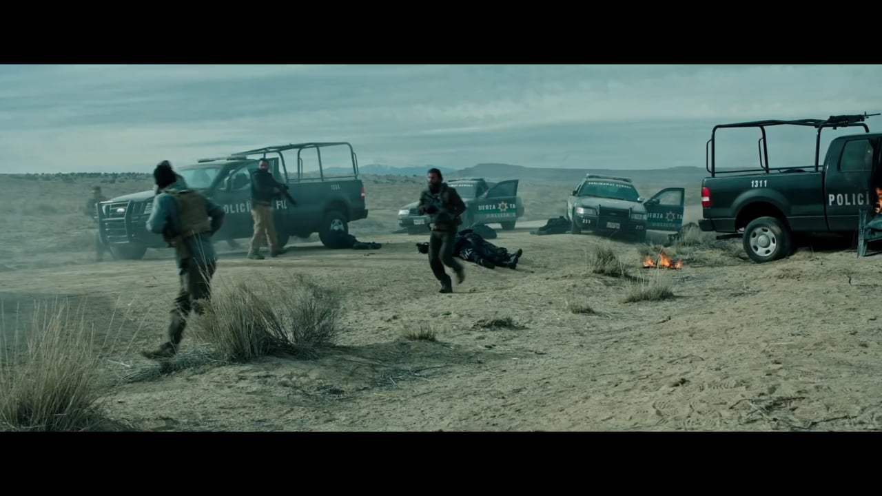 Sicario: Day of the Soldado (2018) - Clean the Scene Screen Capture #2