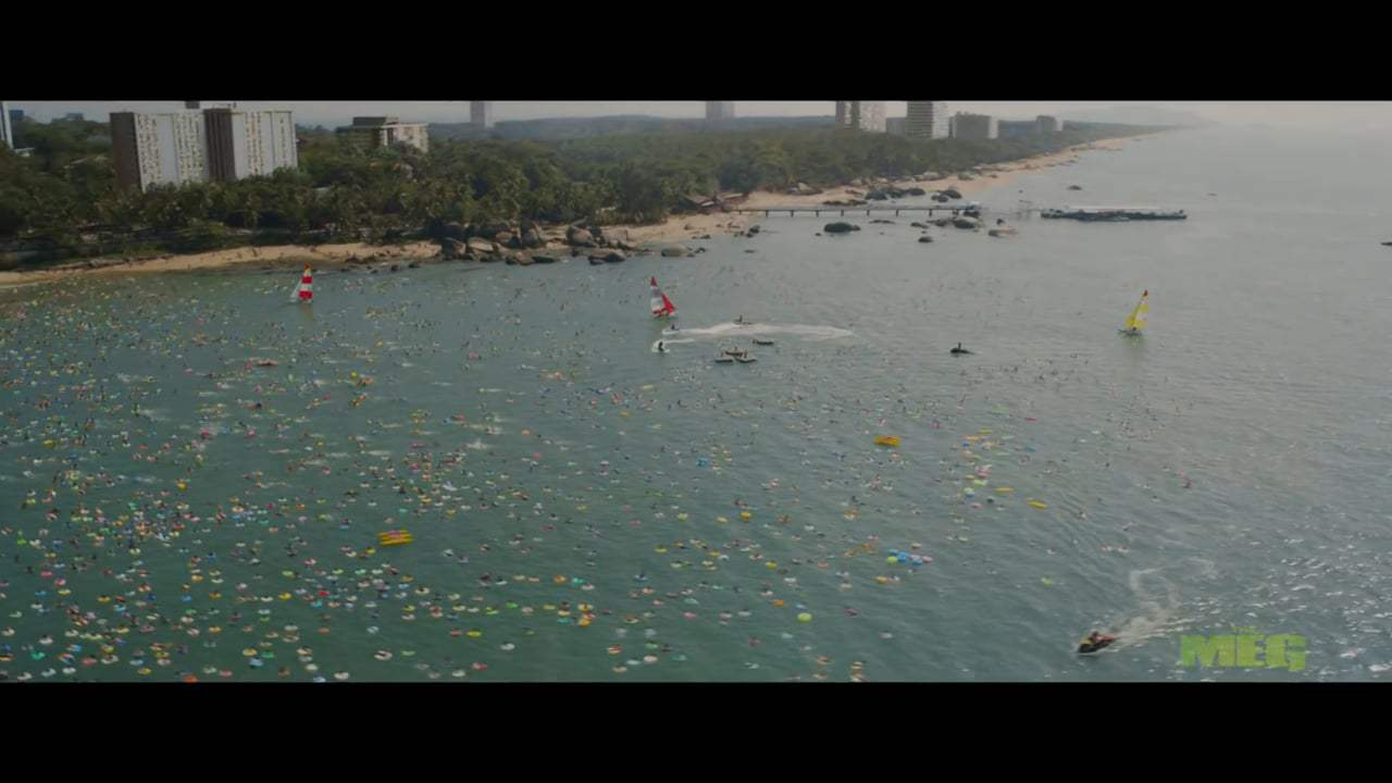 The Meg TV Spot - Swim Faster (2018) Screen Capture #1