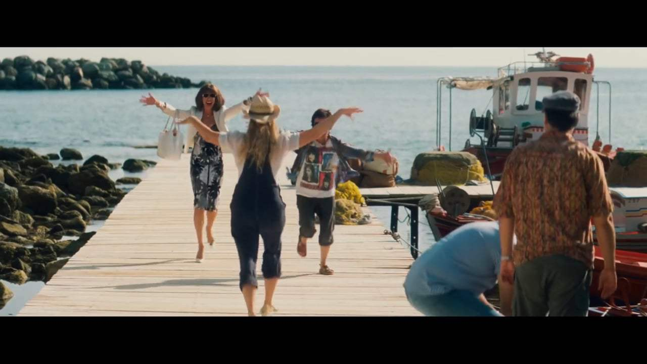 Mamma Mia! Here We Go Again Featurette - Meet the Young Dynamos (2018) Screen Capture #2