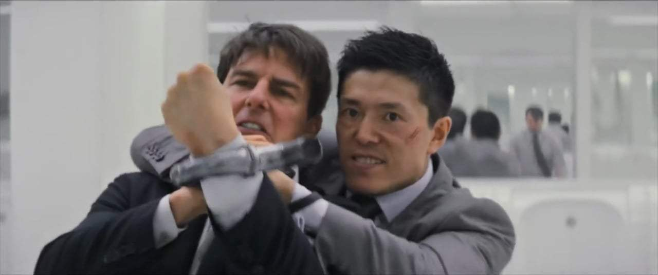 Mission: Impossible - Fallout (2018) - Bathroom Fight Screen Capture #3