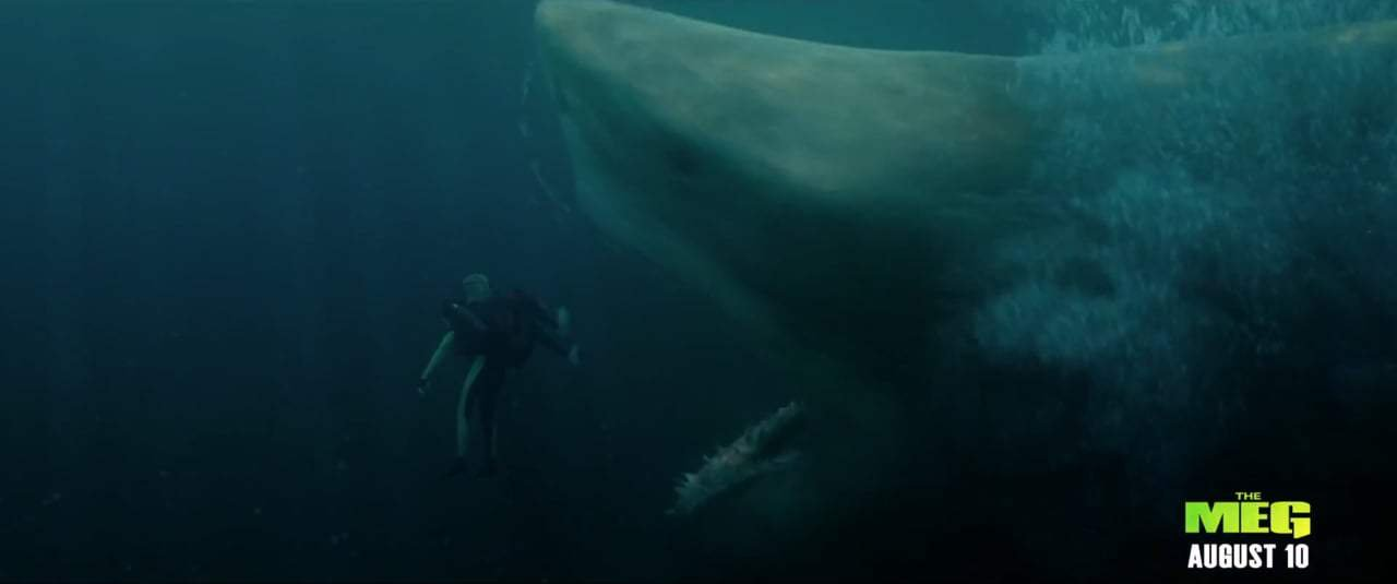 The Meg TV Spot - Extinct (2018) Screen Capture #3
