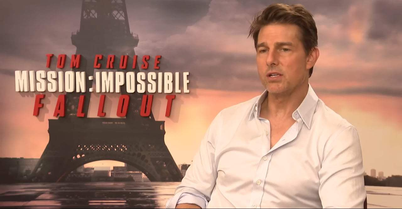 Mission: Impossible - Fallout Featurette - Tom Cruise (2018) Screen Capture #3