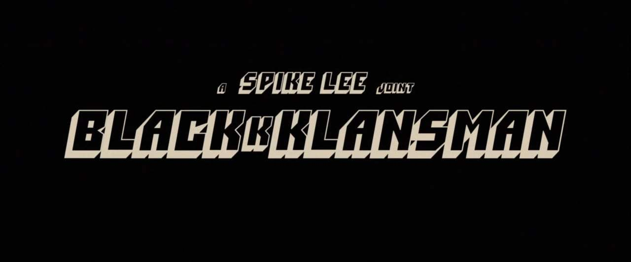 BlacKkKlansman TV Spot - Dig It (2018) Screen Capture #4