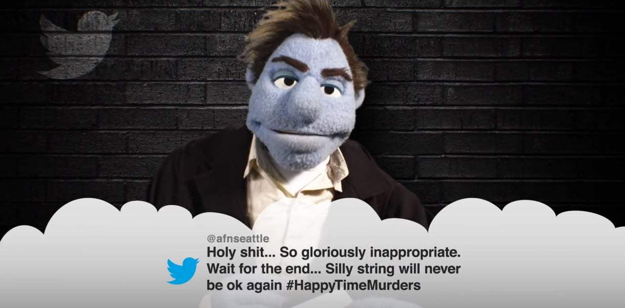 The Happytime Murders Mean Tweets - Red Band Trailer (2018) Screen Capture #4