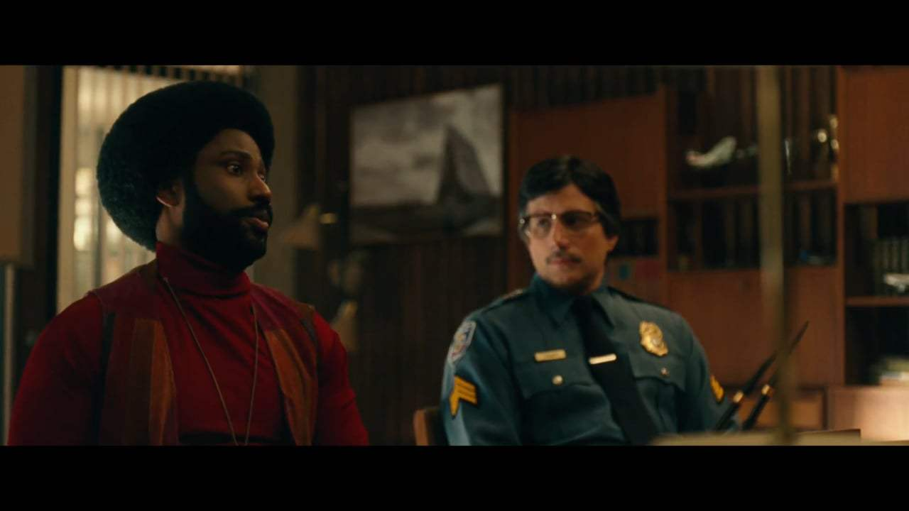 BlacKkKlansman (2018) - The Right White Man Screen Capture #1
