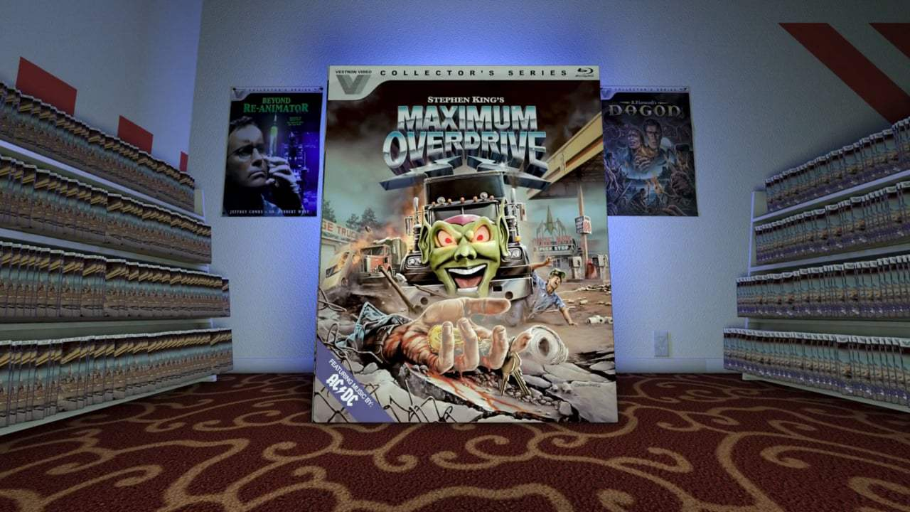 Maximum Overdrive Trailer (1986) Screen Capture #1