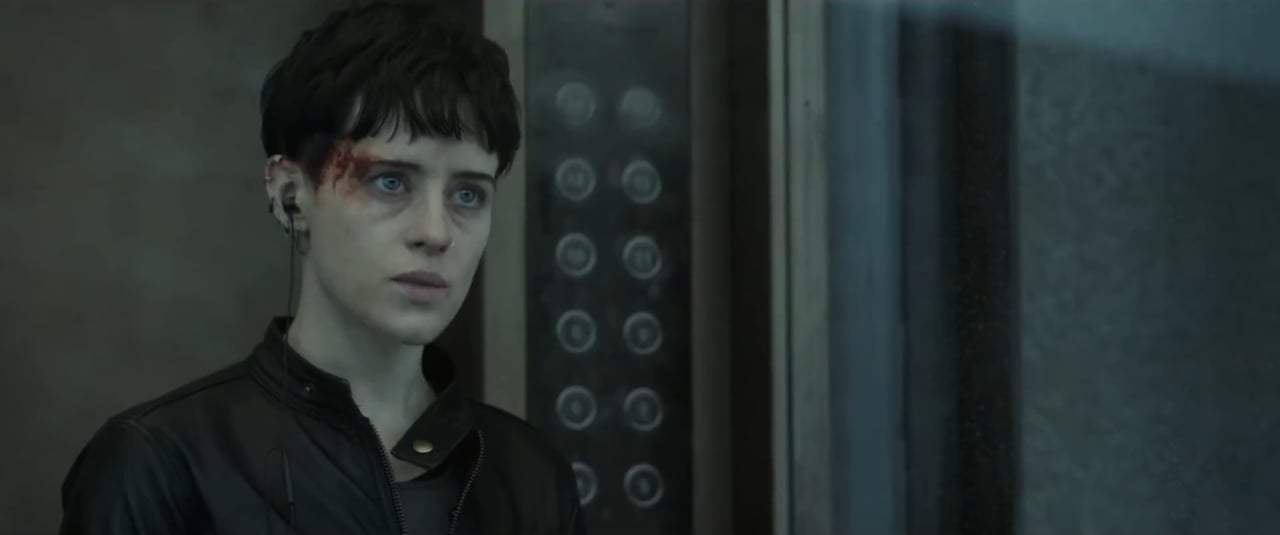 The Girl in the Spider's Web Feature International Trailer (2018) Screen Capture #2