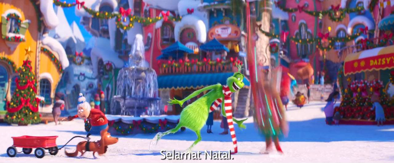 The Grinch Feature International Trailer (2018) Screen Capture #1