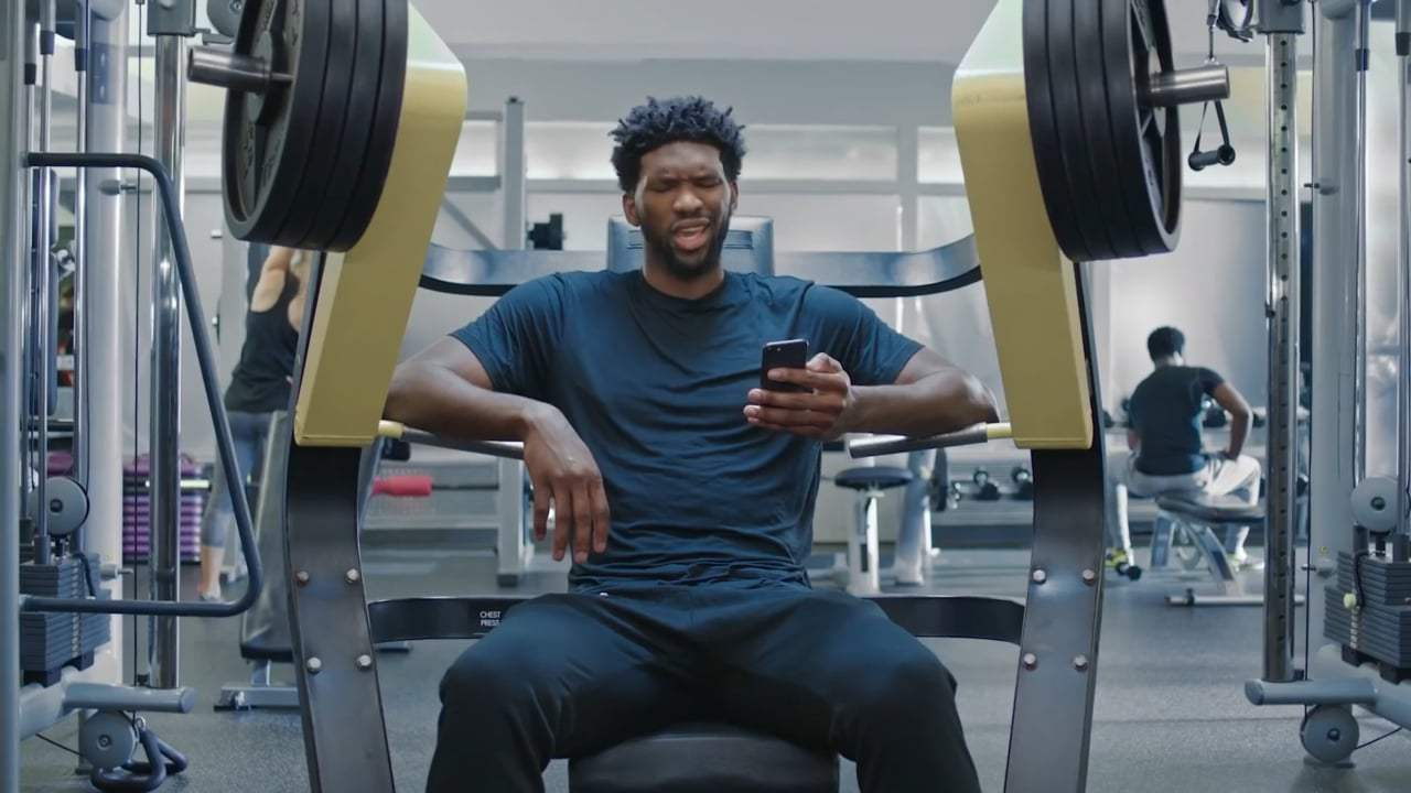 The Grinch TV Spot - Joel Embiid (2018) Screen Capture #1