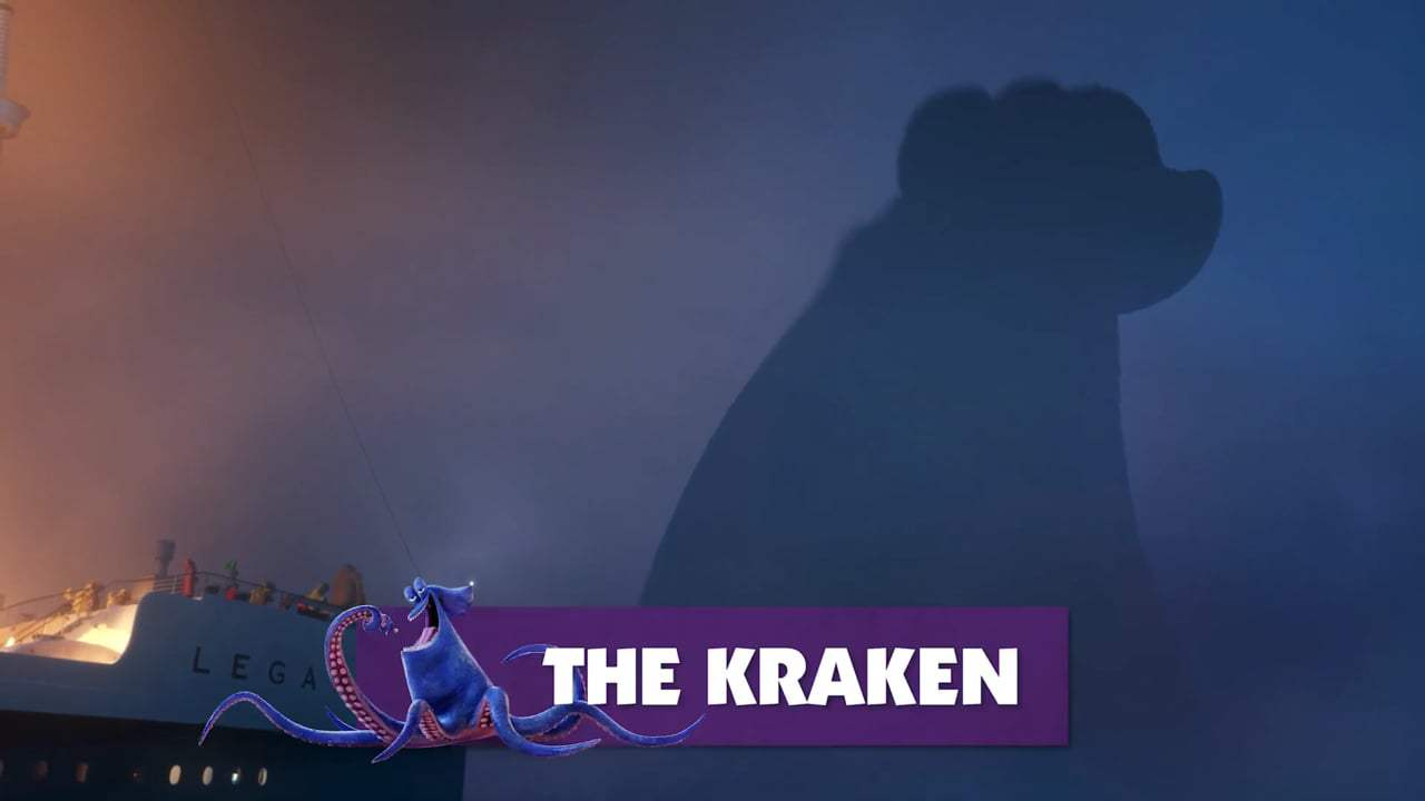 Hotel Transylvania 3 Summer Vacation Featurette Meet The Kraken 2018
