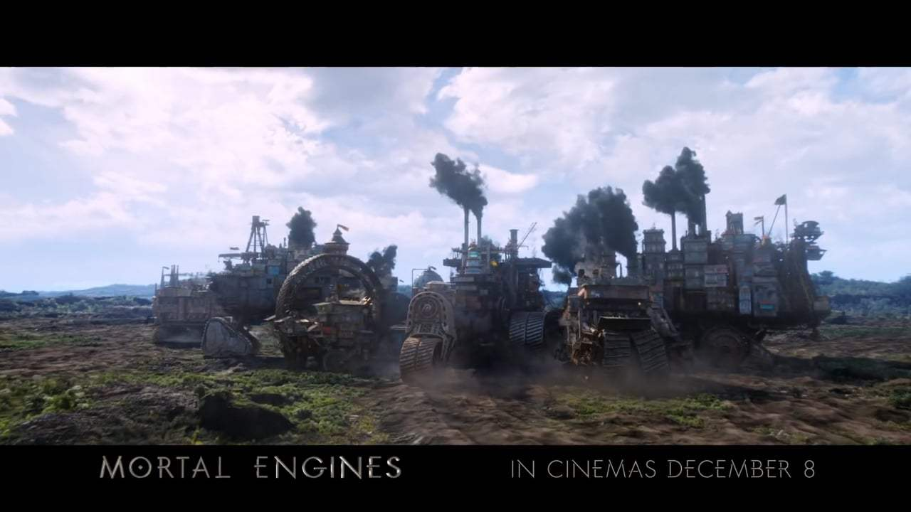 Mortal Engines TV Spot - World (2018) Screen Capture #1