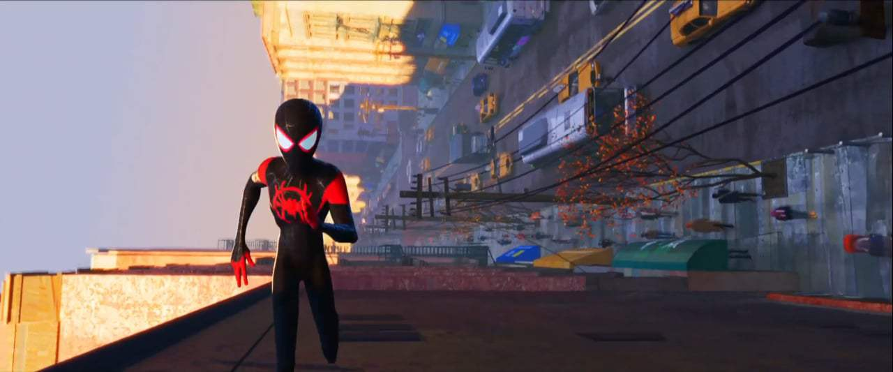 Spider-Man: Into the Spider-Verse TV Spot - Threat (2018) Screen Capture #1