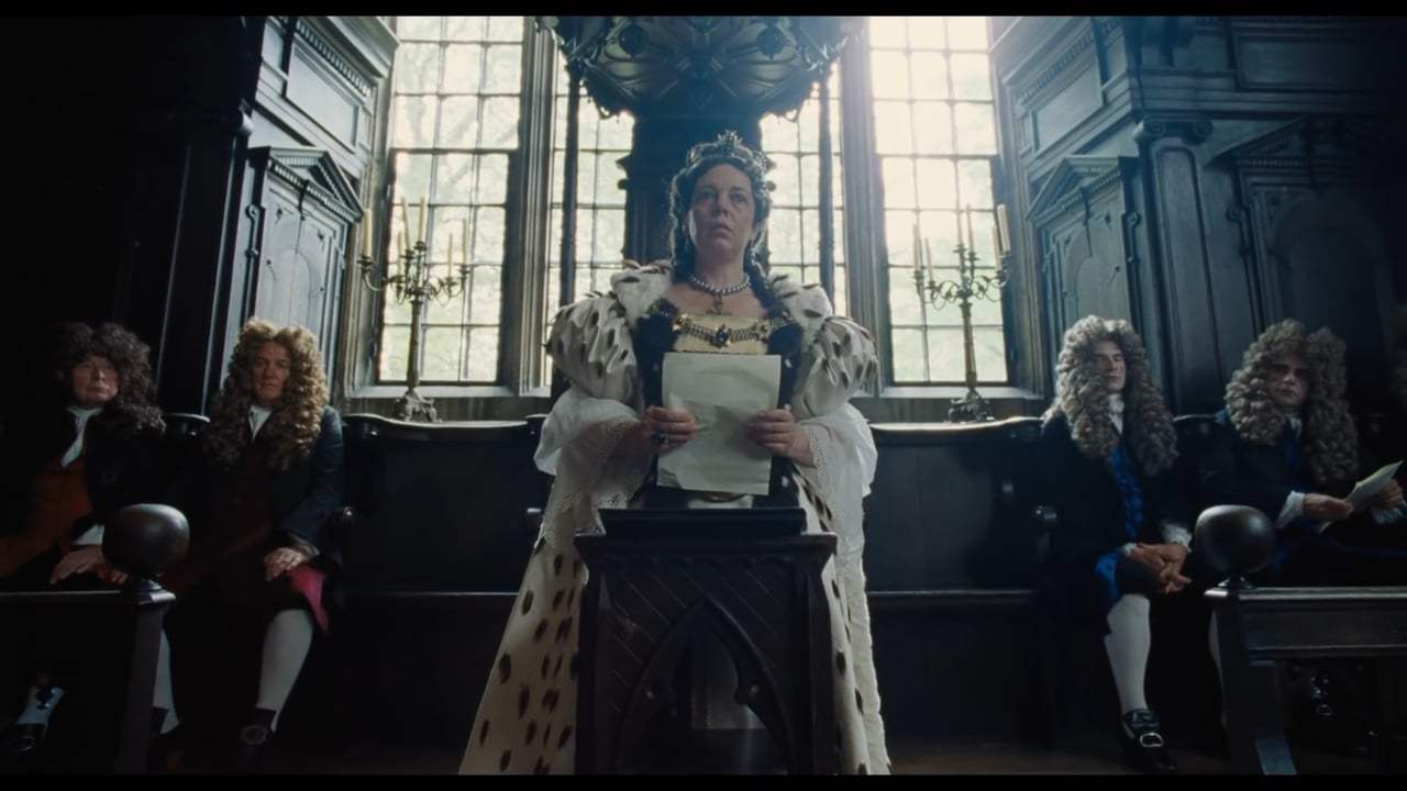 The Favourite TV Spot - Dark and Funny (2018) Screen Capture #2