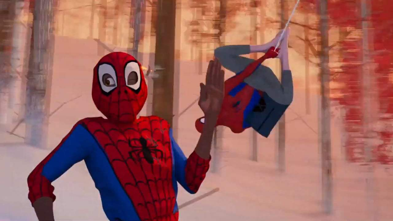 Spider-Man: Into the Spider-Verse (2018) - Another, Another Dimension Screen Capture #2