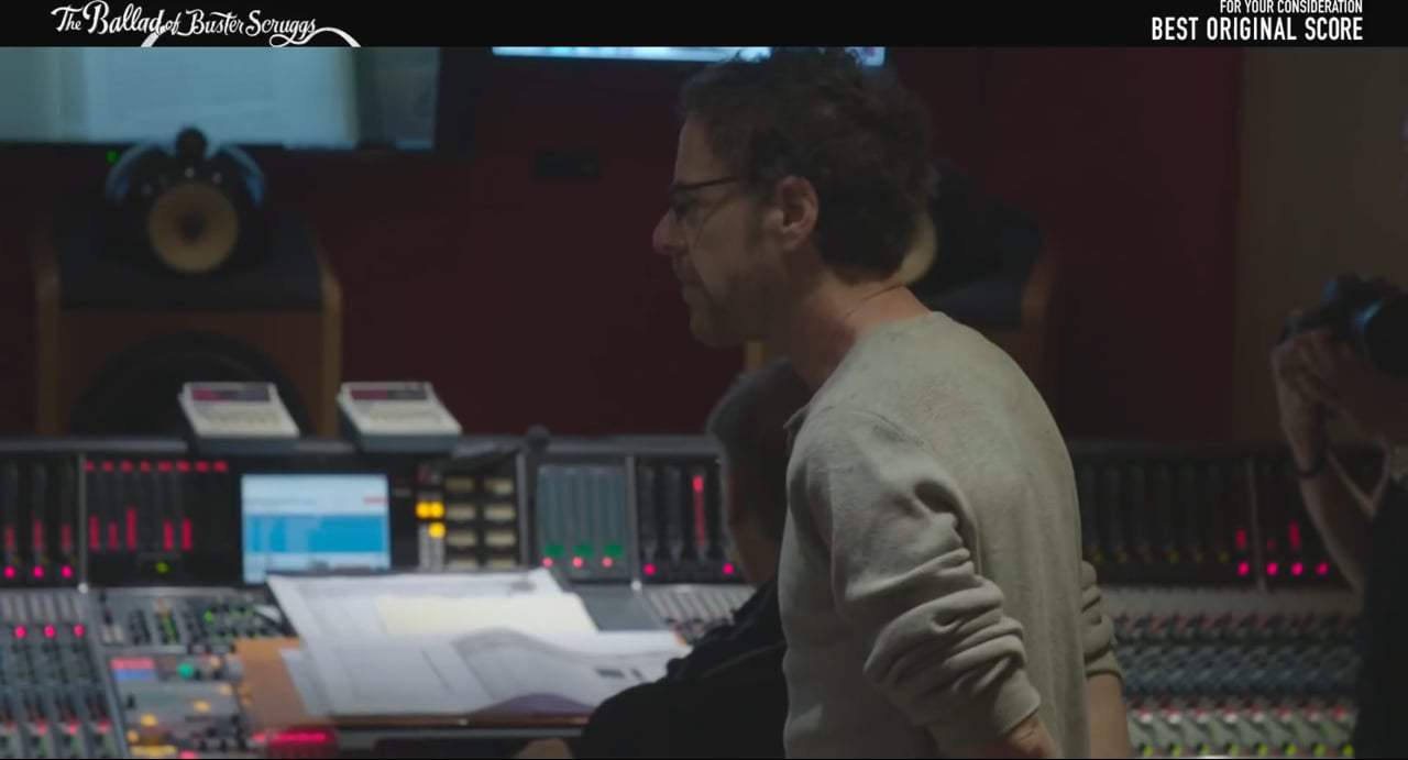 ... The Ballad of Buster Scruggs Featurette - Behind the Score (2018)  Screen Capture ...