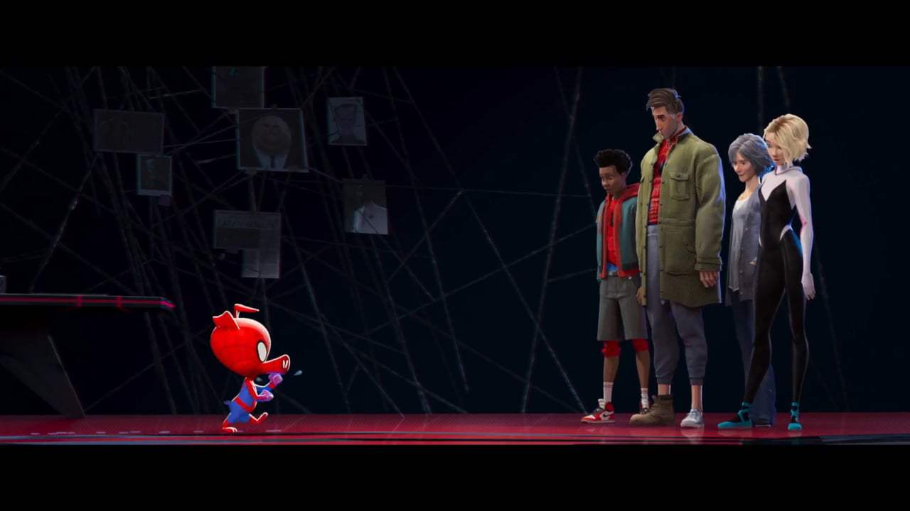 Spider-Man: Into the Spider-Verse Featurette - Behind the Mask (2018) Screen Capture #3