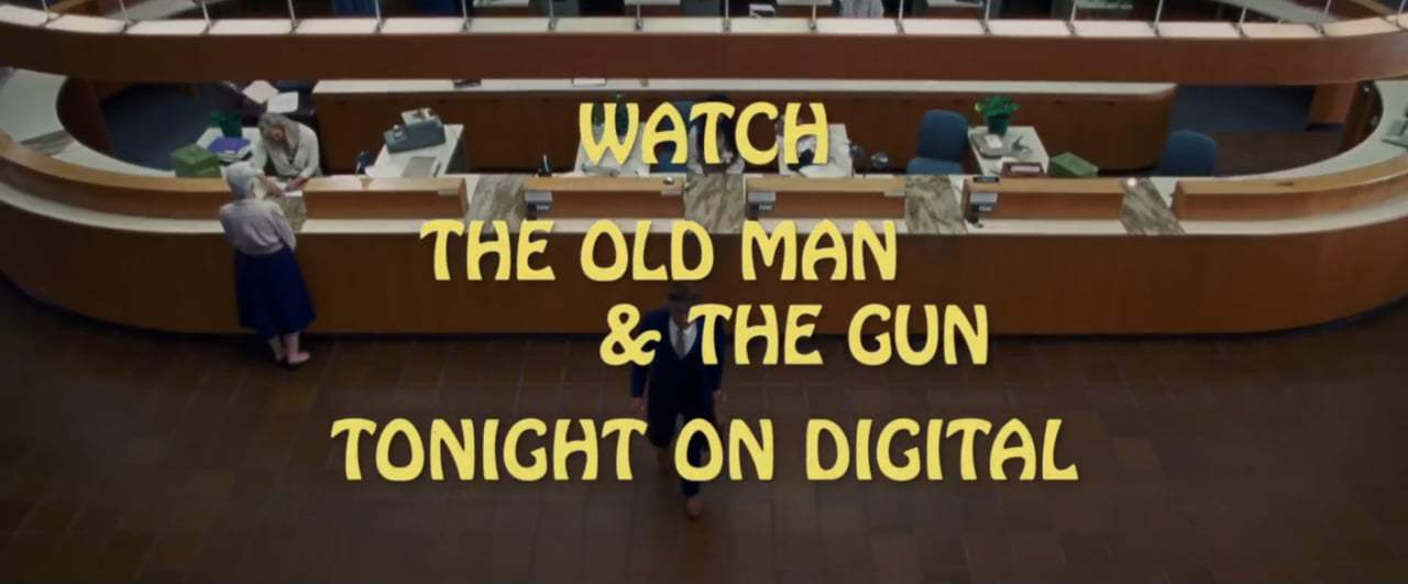 The Old Man & the Gun TV Spot - Mostly True Story (2018) Screen Capture #1