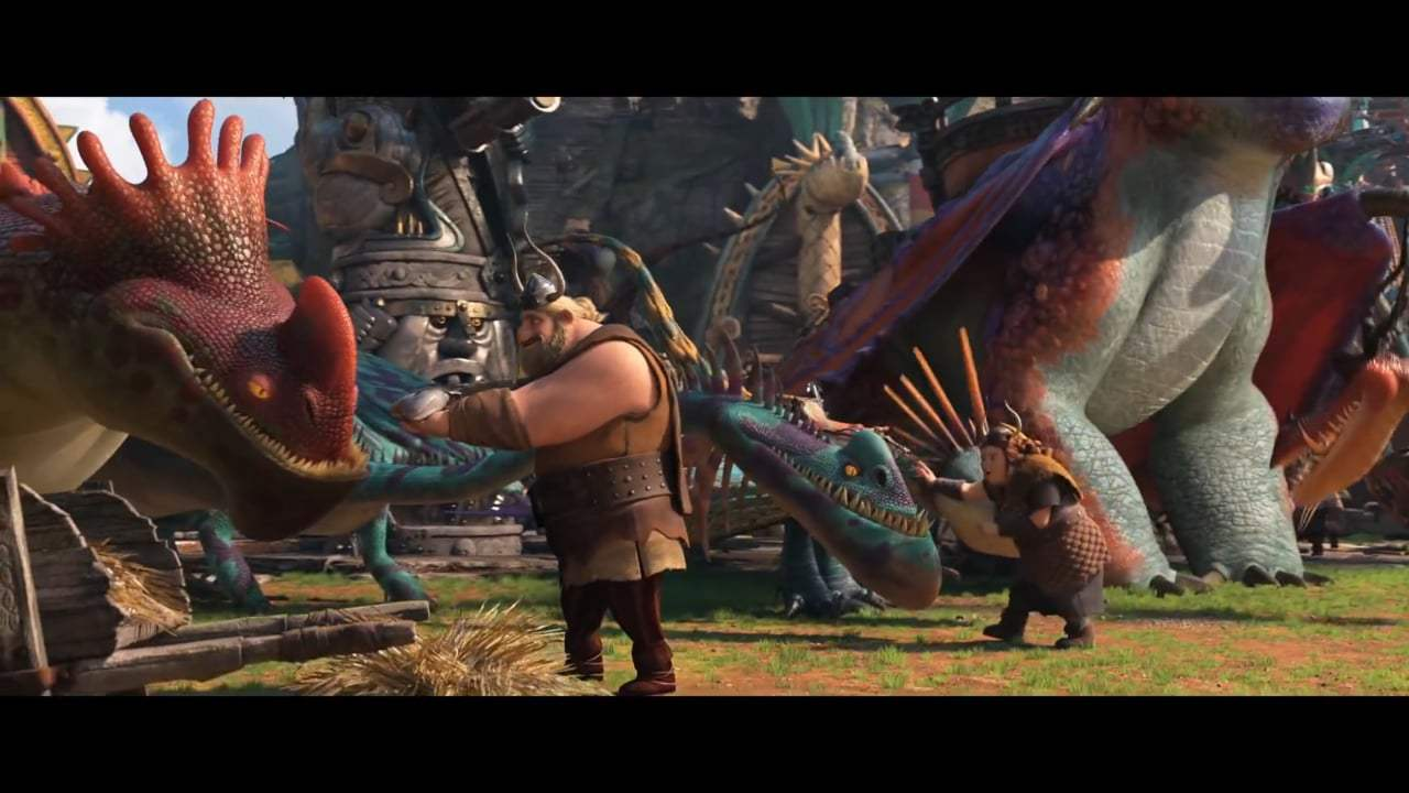 How to Train Your Dragon: The Hidden World TV Spot - New Year, New Dragons (2019) Screen Capture #3
