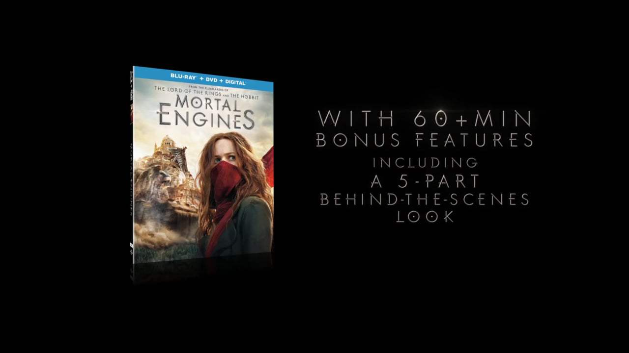 Mortal Engines TV Spot - On Blu-Ray (2018) Screen Capture #2