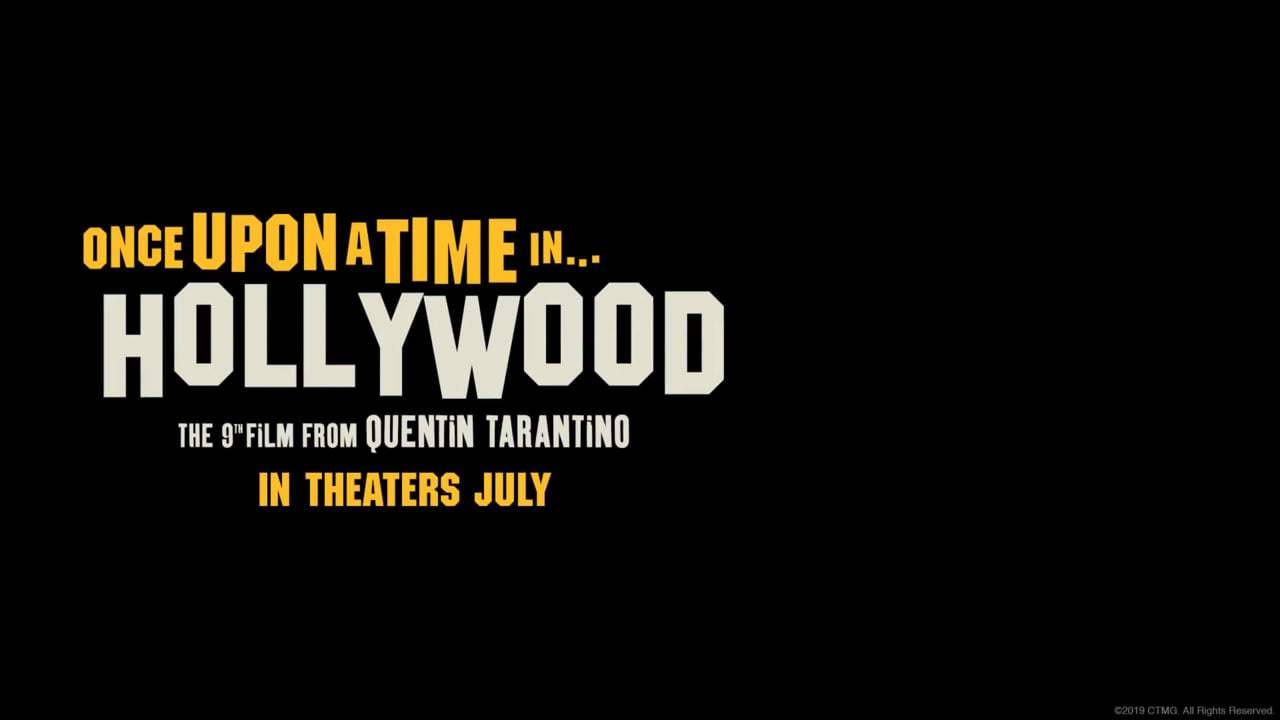 Once Upon a Time in Hollywood Trailer (2019) Screen Capture #4