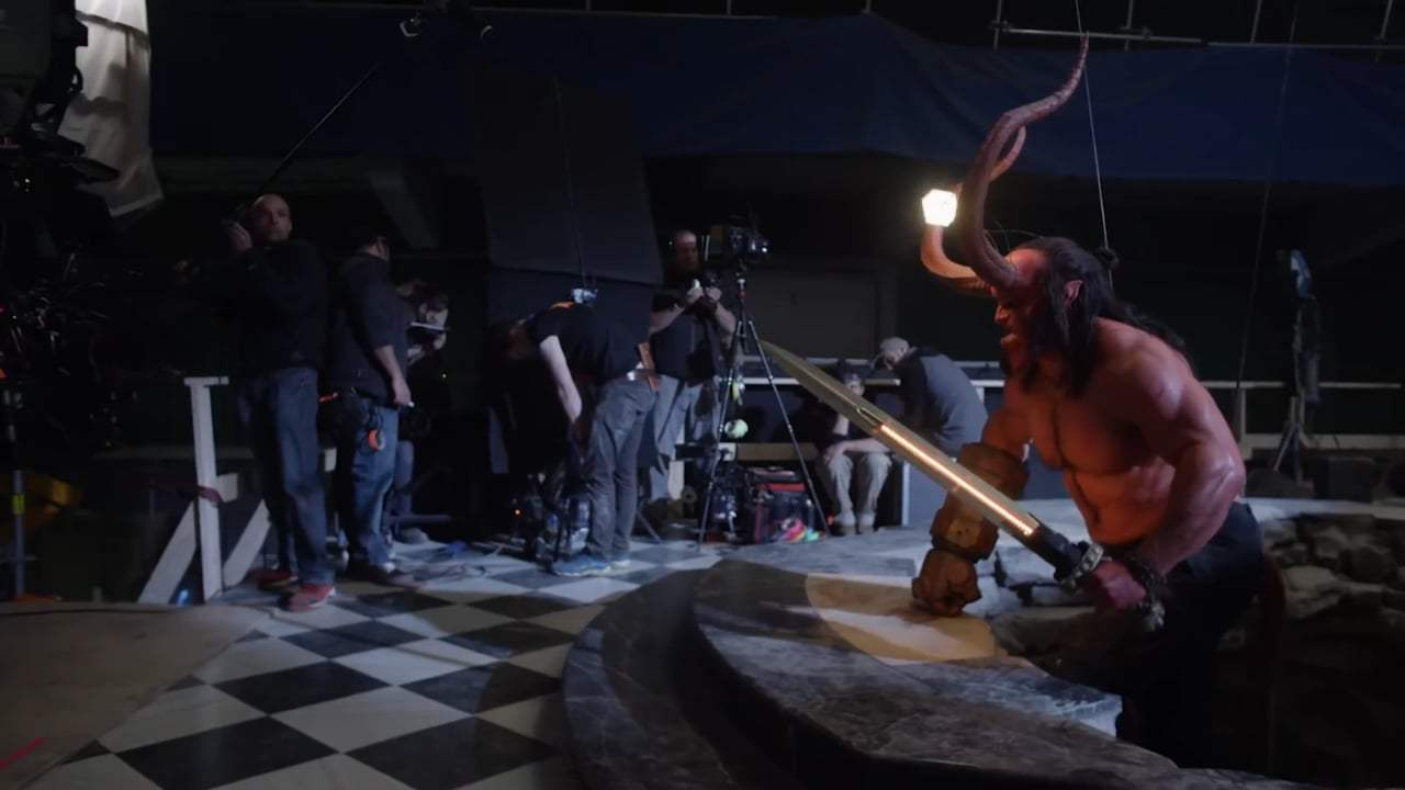 Hellboy Featurette - Keeping it Practical (2019) Screen Capture #4