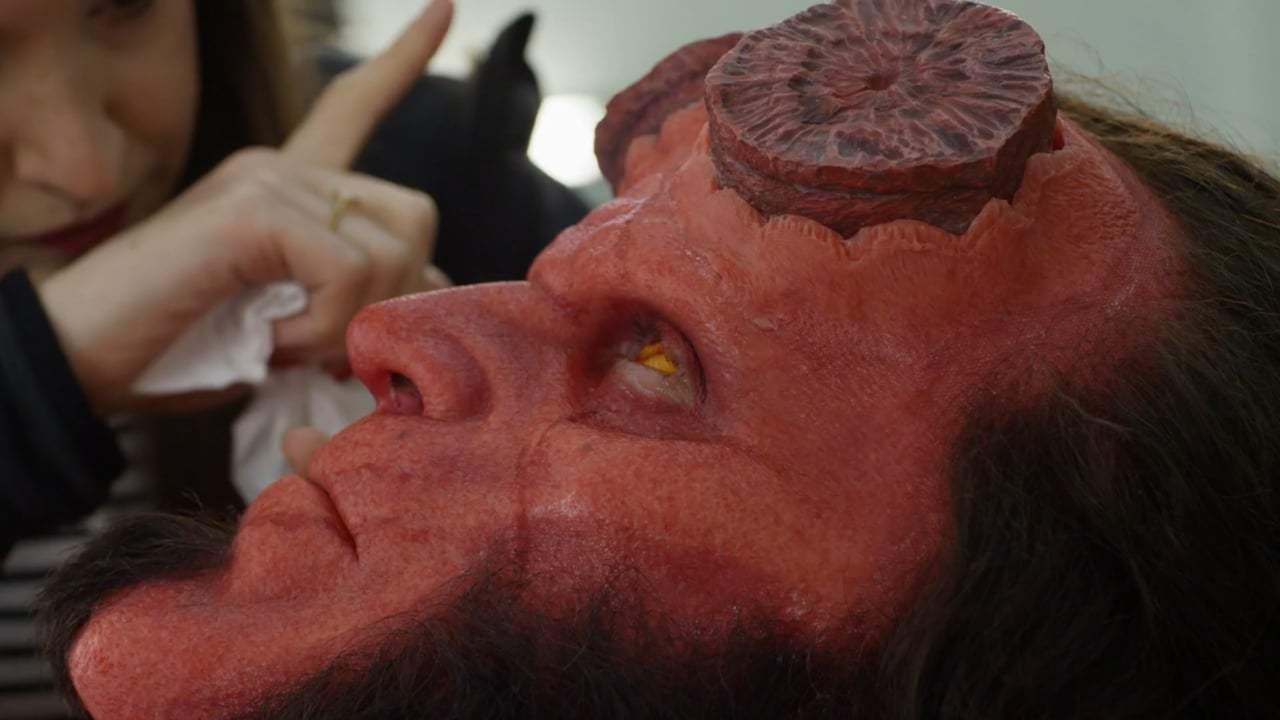 Hellboy Featurette - Becoming Hellboy (2019) Screen Capture #3