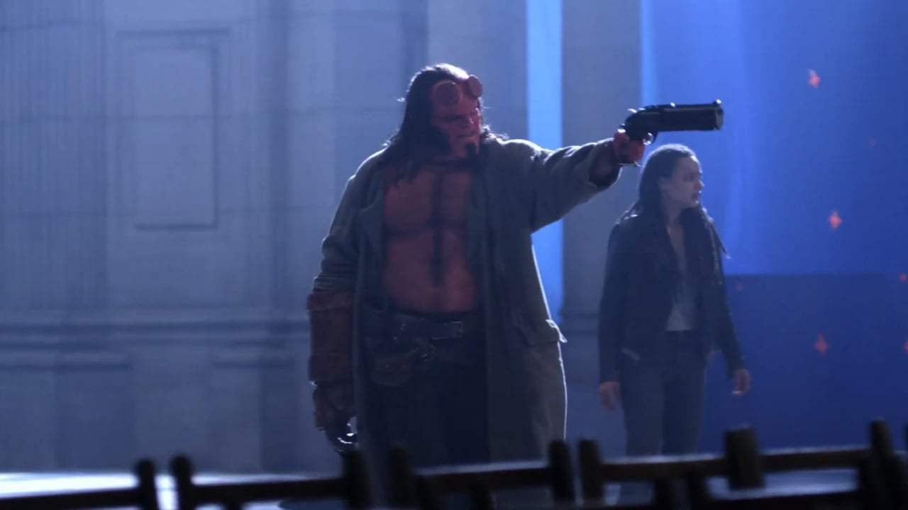 Hellboy Featurette - Becoming Hellboy (2019) Screen Capture #4