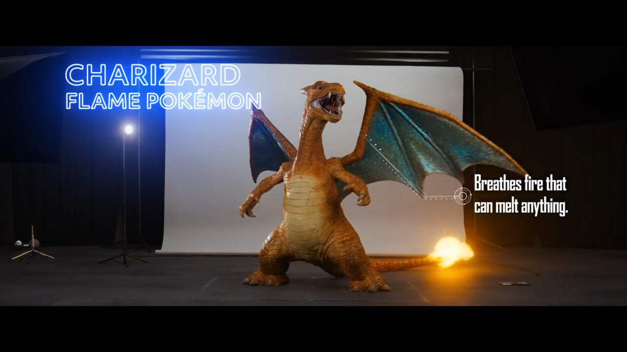 Pokémon Detective Pikachu Featurette - Casting (2019) Screen Capture #2