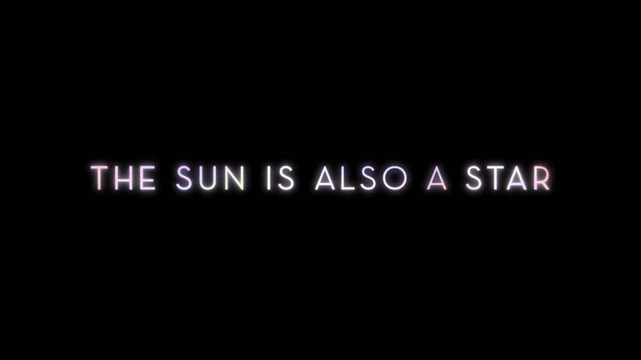 The Sun Is Also a Star TV Spot - Time (2019) Screen Capture #4