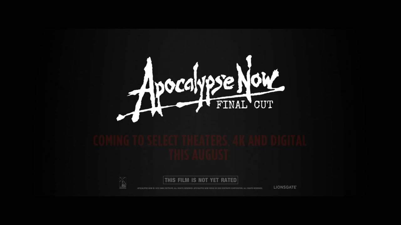 Apocalypse Now 4K Restoration Trailer (1979) Screen Capture #4