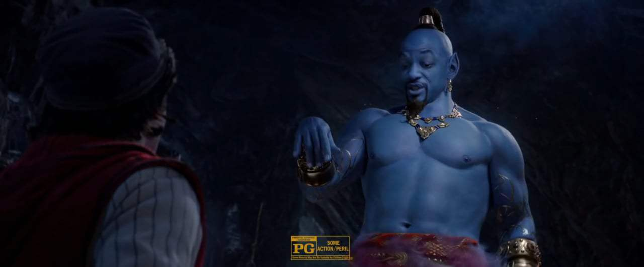 Aladdin TV Spot - Confident (2019) Screen Capture #4