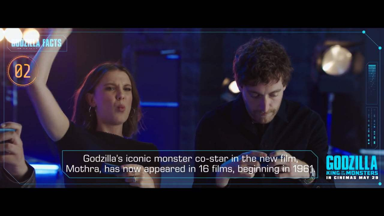 Godzilla: King of the Monsters Viral - 65 Facts (2019) Screen Capture #3