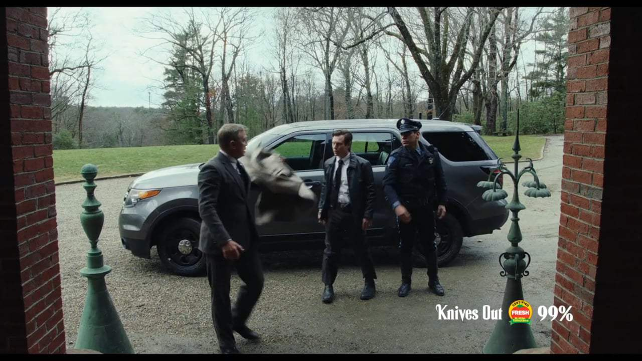 Knives Out TV Spot - Who Hired You? (2019) Screen Capture #1