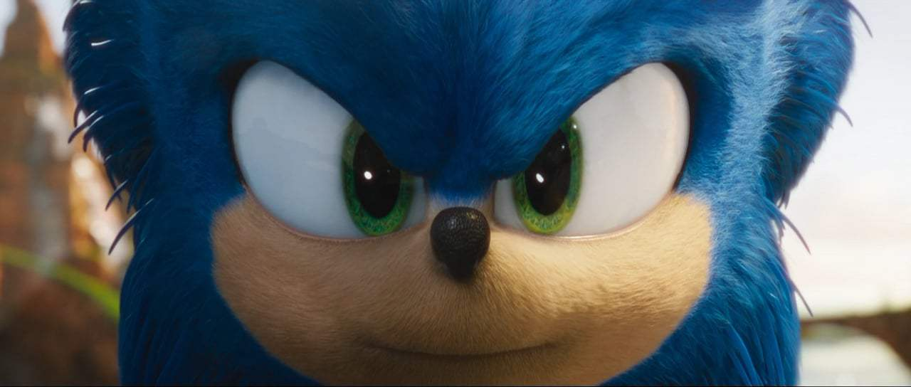 Sonic the Hedgehog Theatrical Trailer (2020) Screen Capture #1
